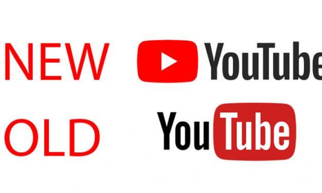 YouTube ganha novo logo e novo visual
