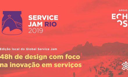 Service Jam Rio 2019 – Design e Inovação de Serviços