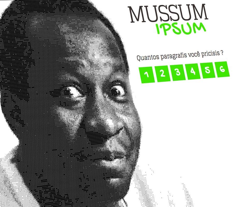 Mussum Ipsum | O melhor Lorem Ipsum do mundis!