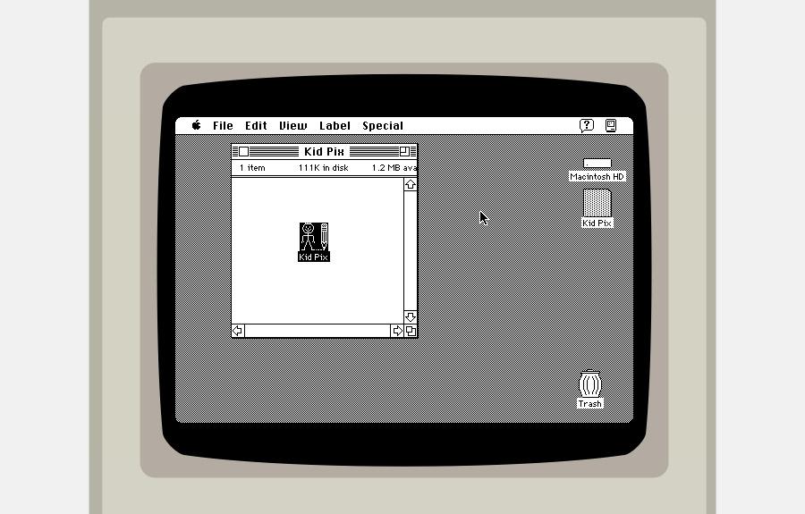 Rode o Mac OS System 7 no seu browser