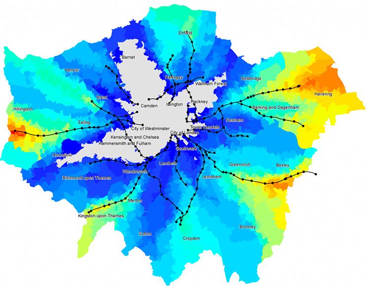"SkyCycle: ""Utopia"" ciclista em Londres"